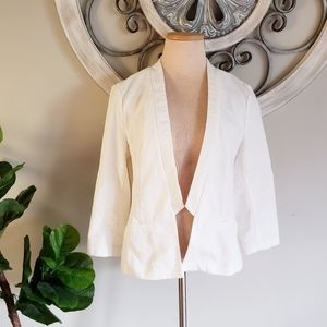 Maurices Lightweight White Summer Spring blazer
